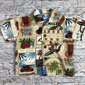 RJC 6 Months Baby Hawaiian Shirt Made in Hawaii Ti